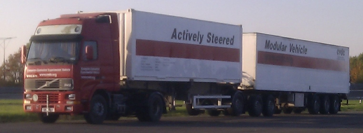 Actively-Steered B-Double